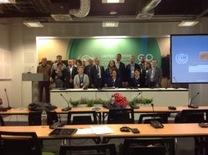 Délégation de la CES à Varsovie